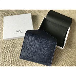 NWOT IWC Schaffhausen Card Holder Wallet